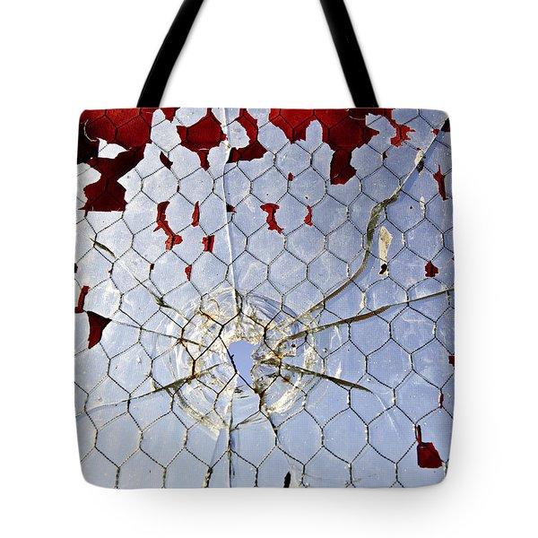 H O M I C I D E Tote Bag by Charles Dobbs