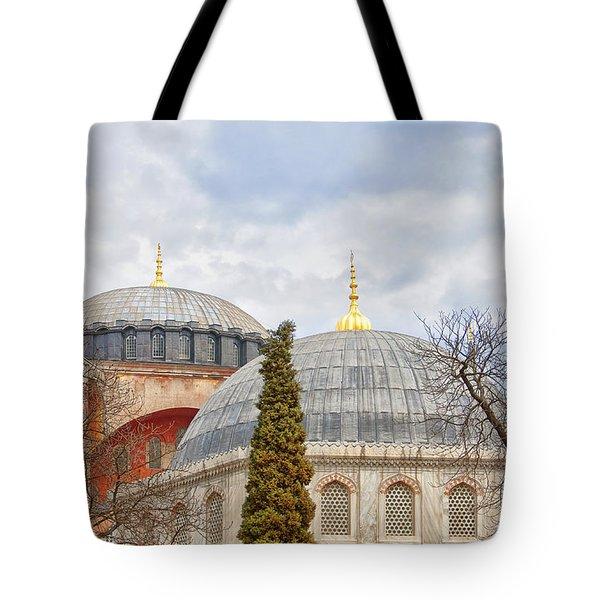 Hagia Sophia 11 Tote Bag by Antony McAulay