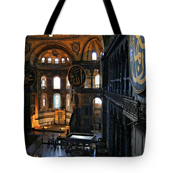 Hagia Sophia Tote Bag by Stephen Stookey