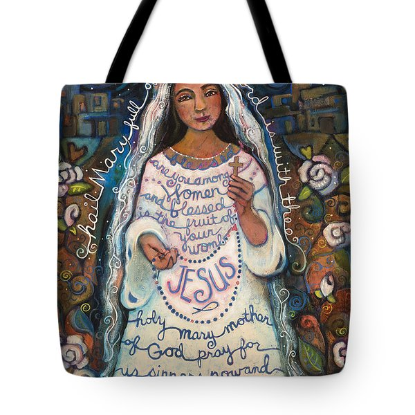 Hail Mary Tote Bag by Jen Norton