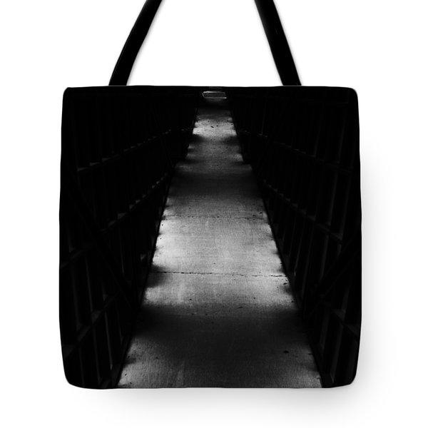 Hallway To Nowhere Tote Bag by Christi Kraft
