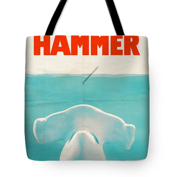 Hammer Tote Bag by Eric Fan