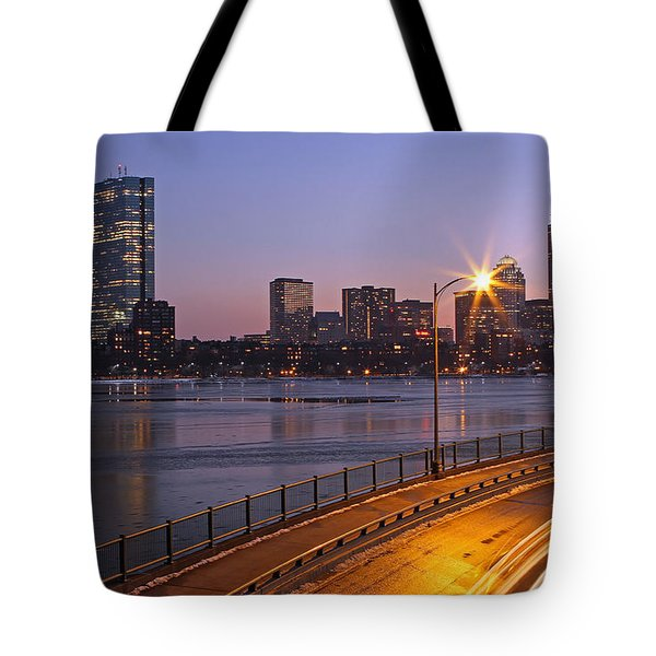 Hancock and Pru Tote Bag by Juergen Roth