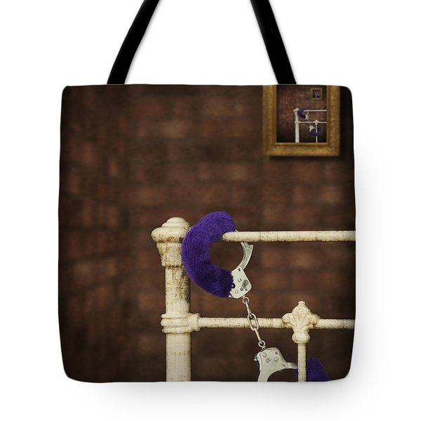 Handcuffs Tote Bag by Amanda And Christopher Elwell