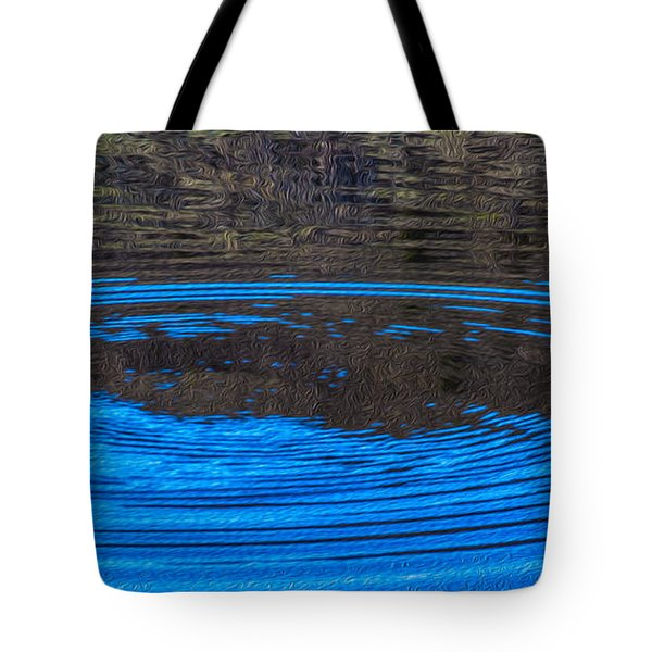 Handy Ripples Tote Bag by Omaste Witkowski