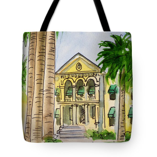 Hanford - California Sketchbook Project Tote Bag by Irina Sztukowski