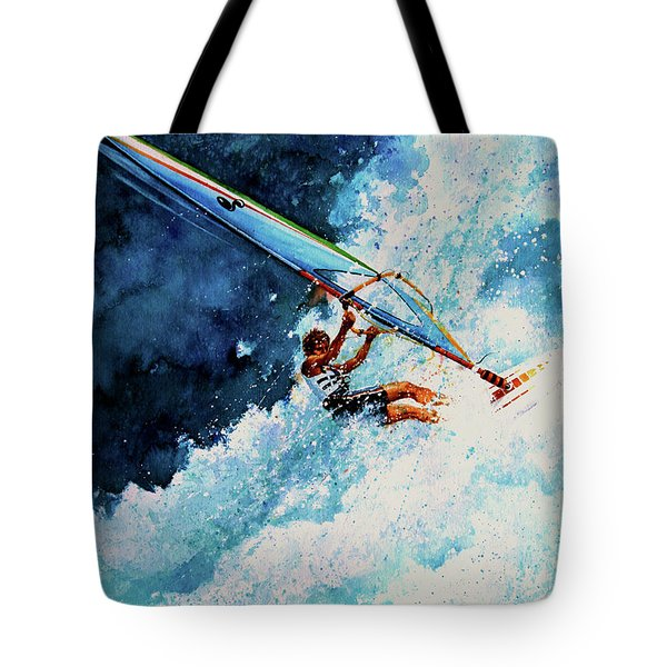 Hang Ten Tote Bag by Hanne Lore Koehler