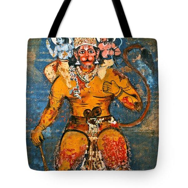 Hanuman Tote Bag by Kurt Van Wagner