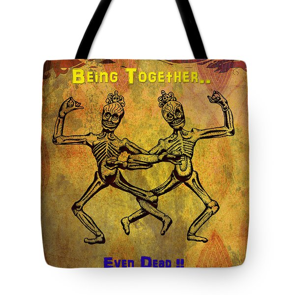 Happiness Is.. Tote Bag by Bedros Awak