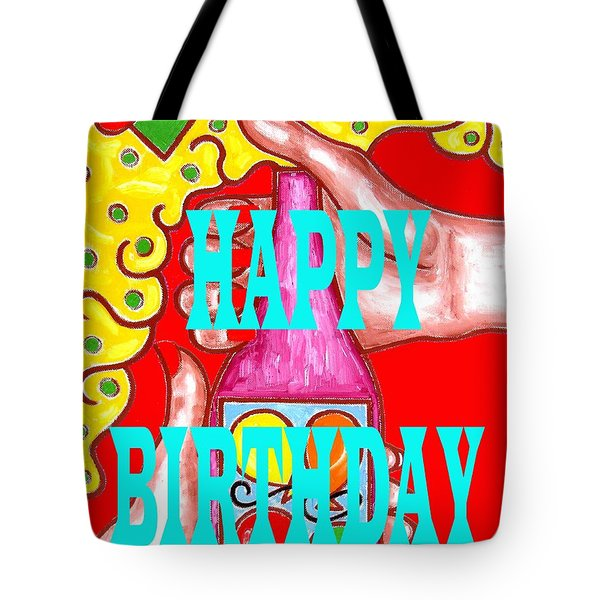Happy Birthday 1 Tote Bag by Patrick J Murphy