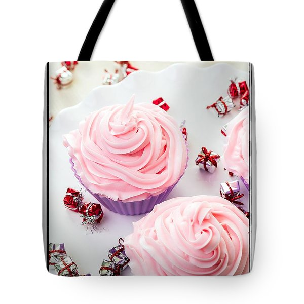 Happy Birthday Cupcakes Tote Bag by Edward Fielding