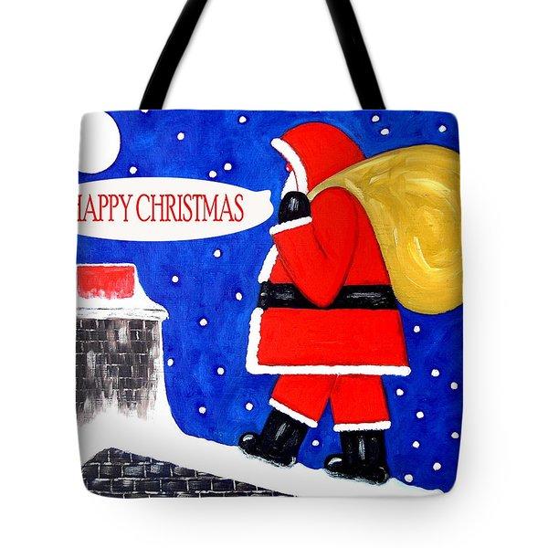 Happy Christmas 12 Tote Bag by Patrick J Murphy