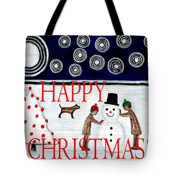 Happy Christmas 29 Tote Bag by Patrick J Murphy