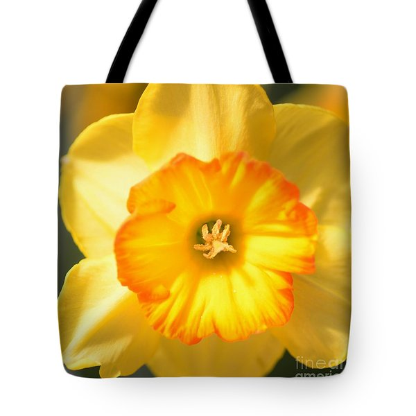 Happy Face Tote Bag by Kathleen Struckle