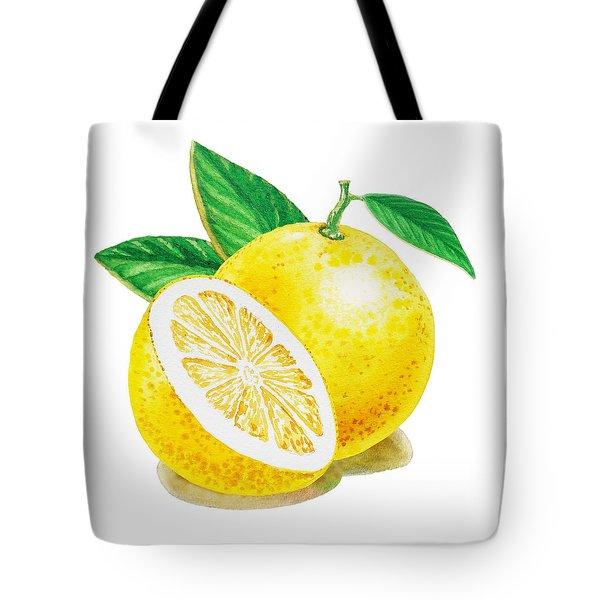 Happy Grapefruit- Irina Sztukowski Tote Bag by Irina Sztukowski