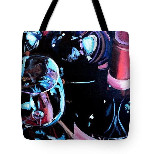 Happy Hour Tote Bag by Donna Tuten