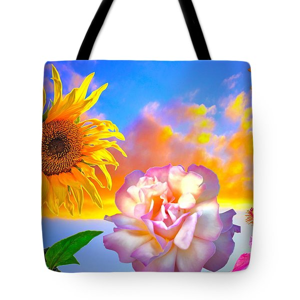Happy Moments Tote Bag by Gwyn Newcombe