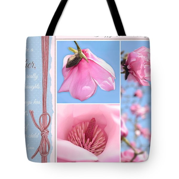 Happy Mother's Day Tote Bag by Lisa Knechtel