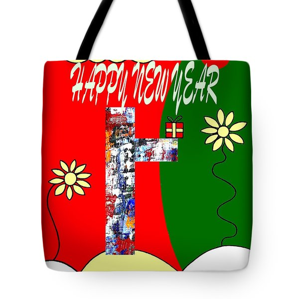 Happy New Year 50 Tote Bag by Patrick J Murphy