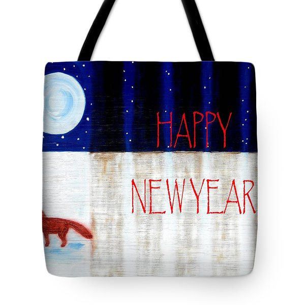 Happy New Year 9 Tote Bag by Patrick J Murphy