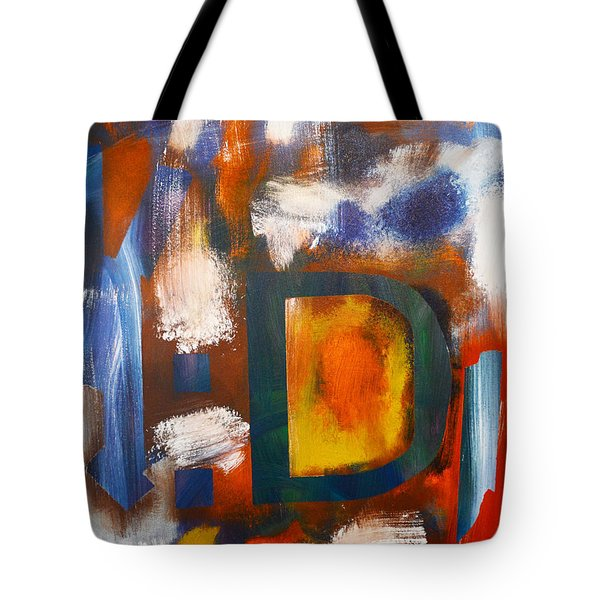 Happy Things By 4 Year Old Artist Tote Bag by Sydney Marlow