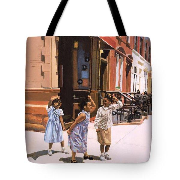 Harlem Jig Tote Bag by Colin Bootman
