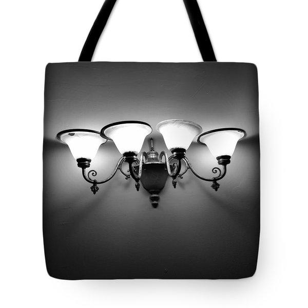 Harlem Sconce Tote Bag by H James Hoff