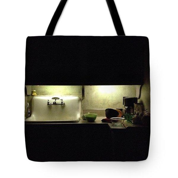 Harlem Sink Tote Bag by H James Hoff