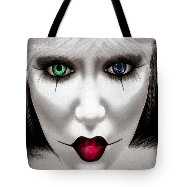 Harlequin Tote Bag by Bob Orsillo