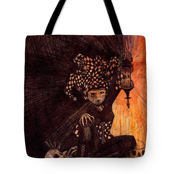Hermetic Fool Tote Bag by Kd Neeley