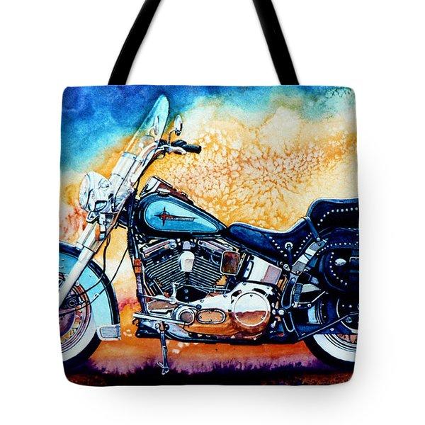 Harley Hog I Tote Bag by Hanne Lore Koehler