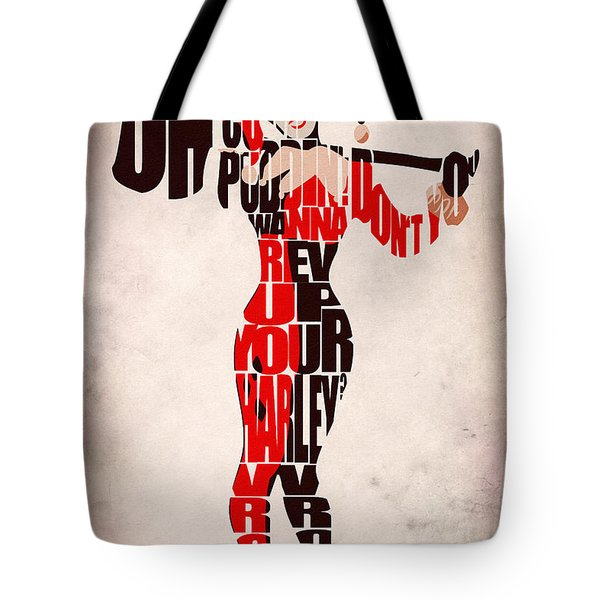 Harley Quinn Tote Bag by Ayse Deniz