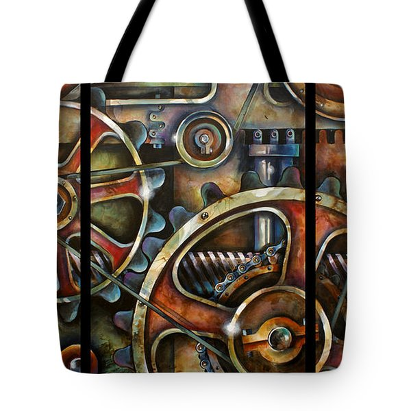 Harmony 7 Tote Bag by Michael Lang