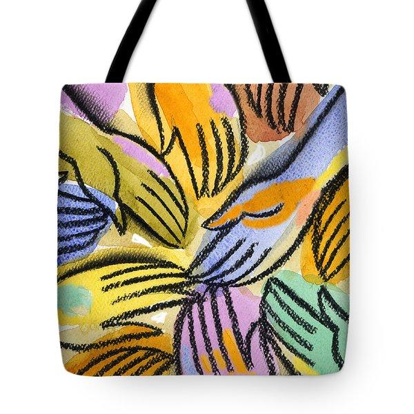 Harmony Tote Bag by Leon Zernitsky