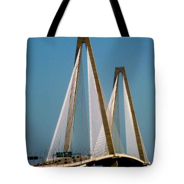 Harmony Of Charleston Tote Bag by Karen Wiles