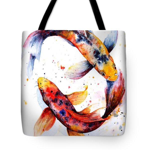 Harmony Tote Bag by Zaira Dzhaubaeva