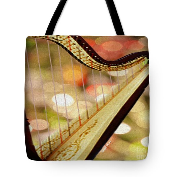 Harp Tote Bag by Cheryl Young