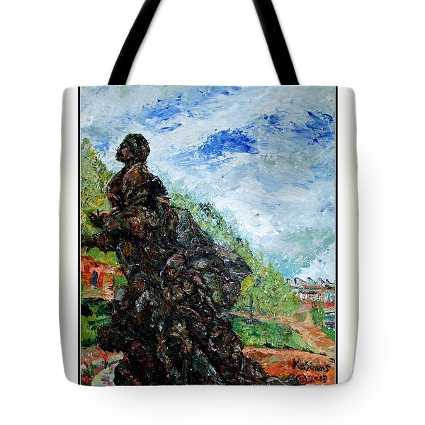 Harriet Tubman-underground Railroad Tote Bag by Keith OBrien Simms