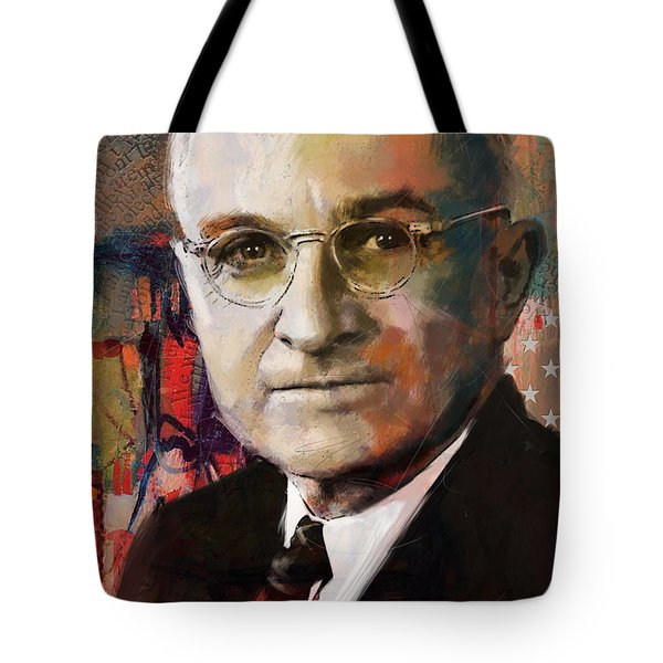 Harry S. Truman Tote Bag by Corporate Art Task Force