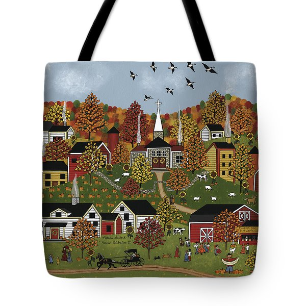 Harvest Celebration II Tote Bag by Medana Gabbard