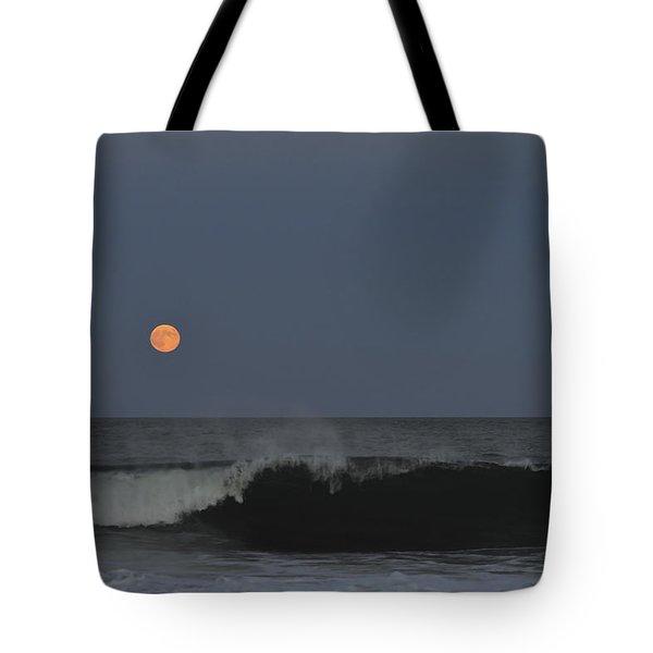 Harvest Moon Seaside Park Nj Tote Bag by Terry DeLuco