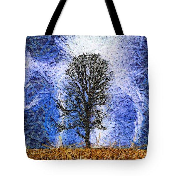 Harvest Storm Tote Bag by Dan Sproul