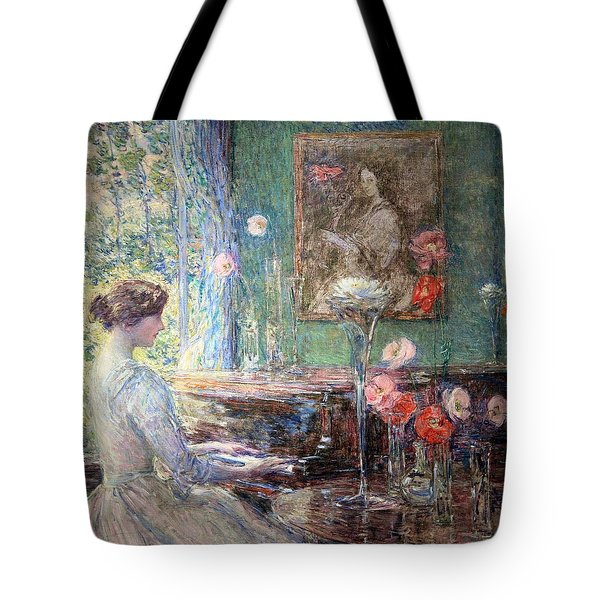 Hassam's Improvisation Tote Bag by Cora Wandel