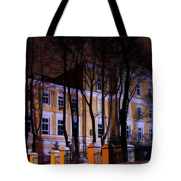 Haunted House Tote Bag by Alexander Senin