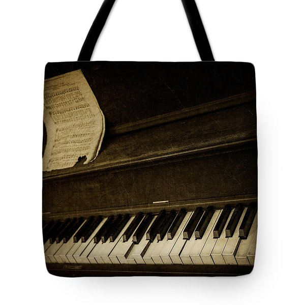Haunted Melody Tote Bag by Amy Weiss