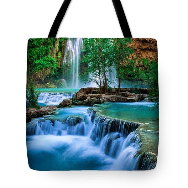 Havasu Paradise Tote Bag by Inge Johnsson