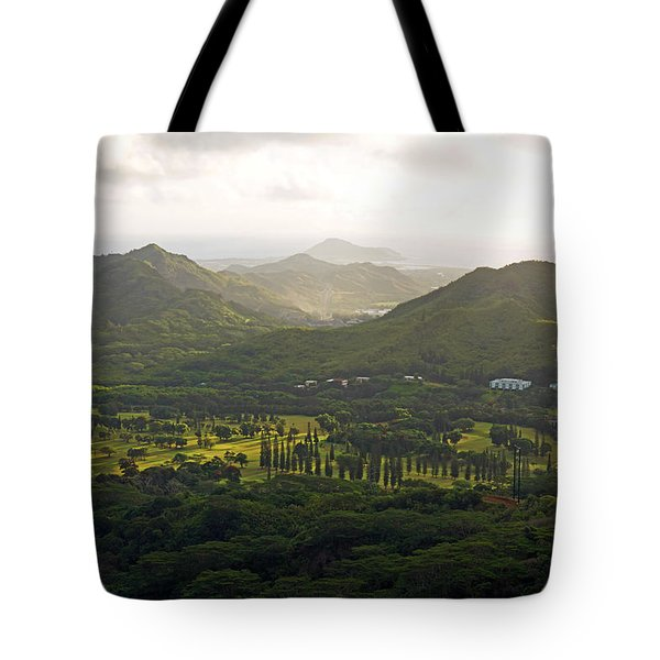 Hawaii Pacific University Tote Bag by Kevin Smith
