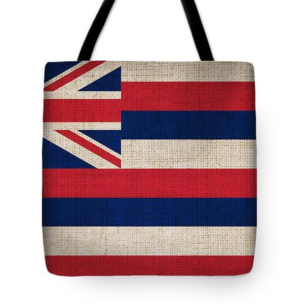 Hawaii State Flag  Tote Bag by Pixel Chimp