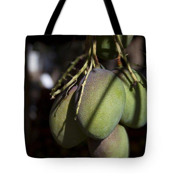 Hawaiian Mango Kihei Maui Hawaii Tote Bag by Sharon Mau