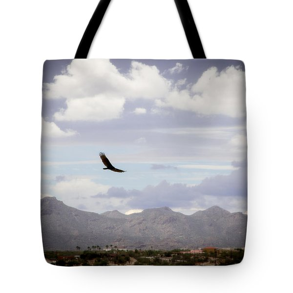 Hawk - 2013-242 Tote Bag by Judi FitzPatrick